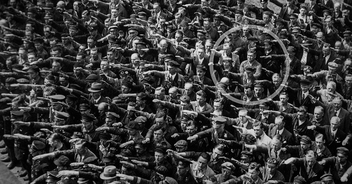 Refuse to salute Hitler